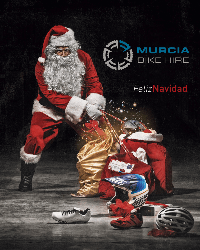 Murcia Bike Hire - Merry Christmas / Feliz Navidad