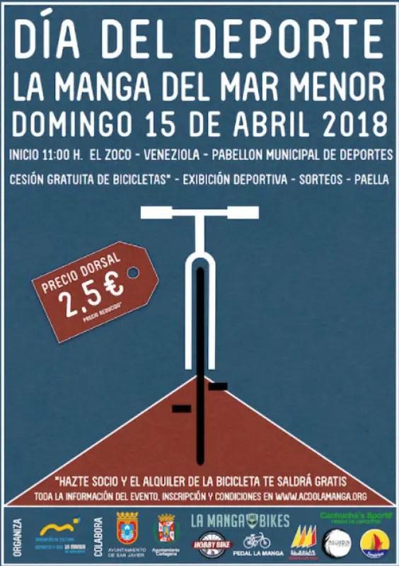 Murcia Today Span Style Color 780948 Archived Span 15th April 21 Kilometre Non Competitive Bicycle Ride In La Manga Del Mar Menor