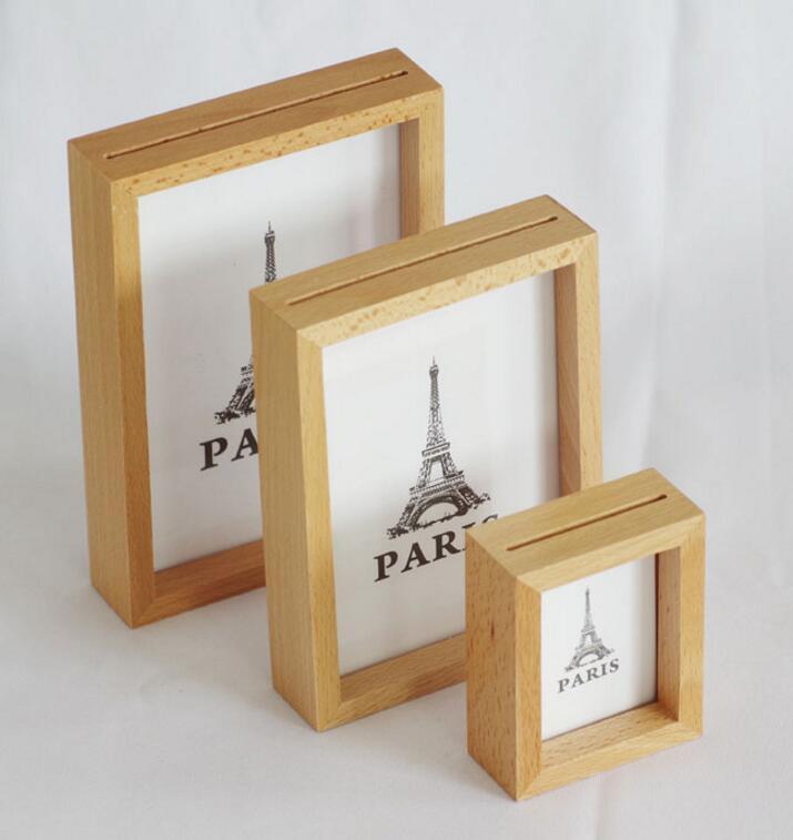 cadre en bois brut classic