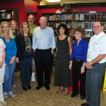 Group with James Patterson