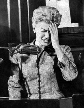 Image result for lana turner on the stand