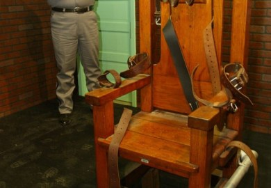 Modern Electric Chair Execution
