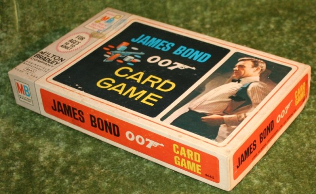 James Bond 007 Card Game Little Storping Museum