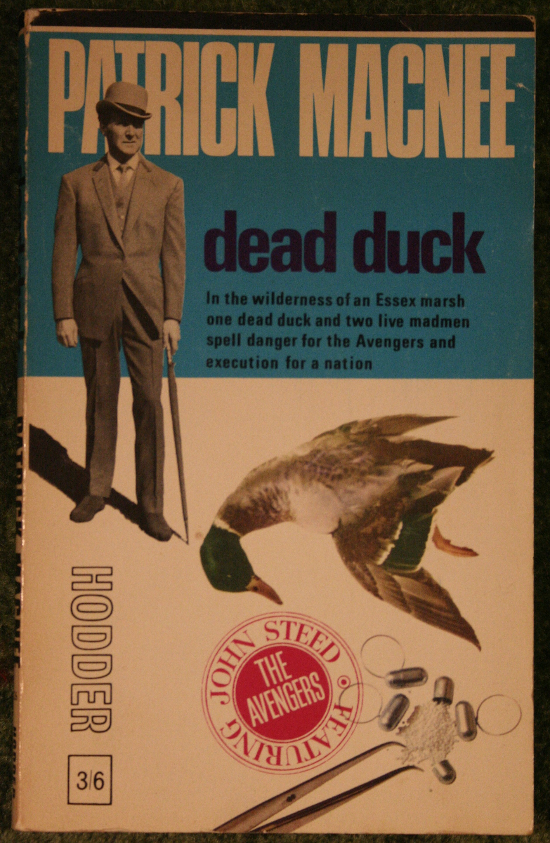 The Avengers Dead Duck By Patrick Macnee Amp Peter Leslie
