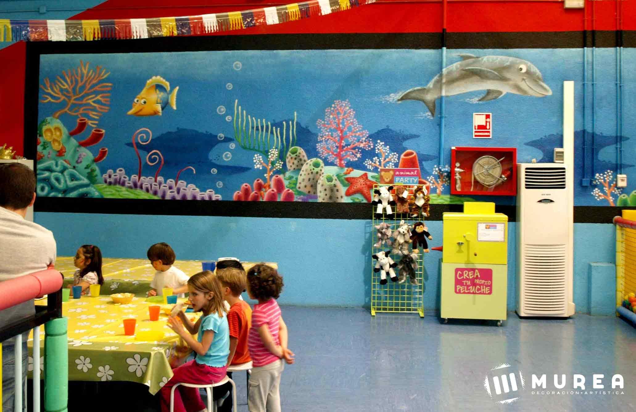 Murales Infantiles pintados a mano en Madrid