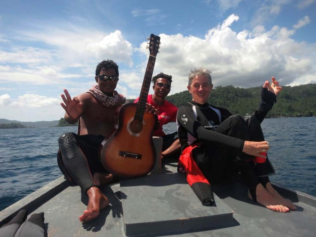 On the way to Lembeh