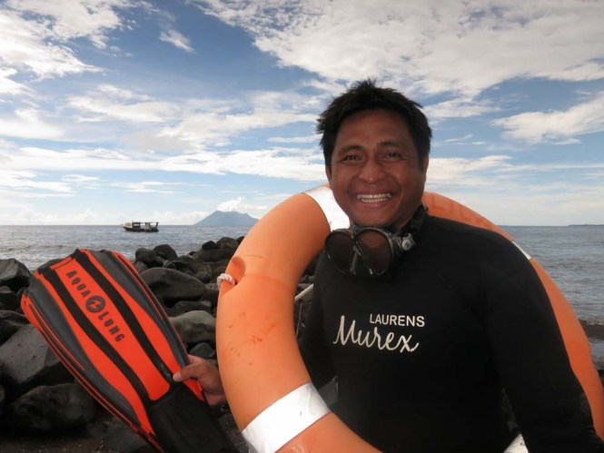 Murex Dive Guide Laurens Manado