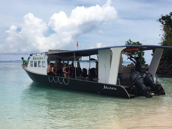 Marisa Murex new boat