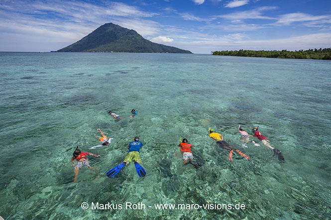 Snorkeling holiday at Bunaken National Park