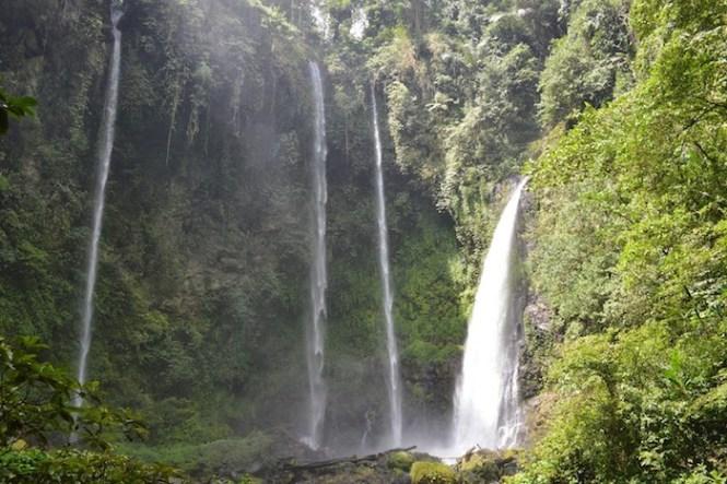 Waterfalls Minahasan highlands