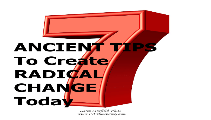 7 ancient tips
