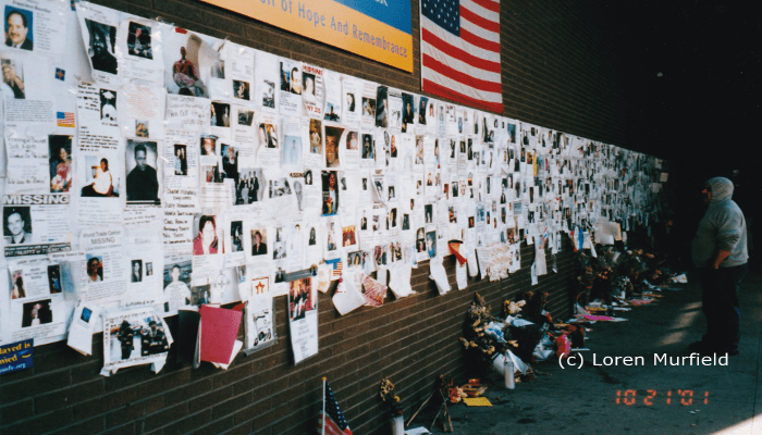 911 Wall of the Missing and the Dead St Vincents Hospitalscaled