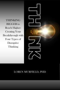 Thinking bigger about thinking is a provocative book by www.murfieldcoaching.com to help you think bigger and reach higher.