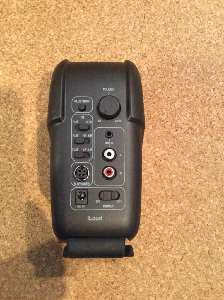 iLoud Micro Monitor 後部
