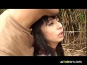 ハーフ顔の美少女を調教して野外でれイプ動画本物無料