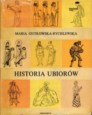 książka historia ubiorów okładka
