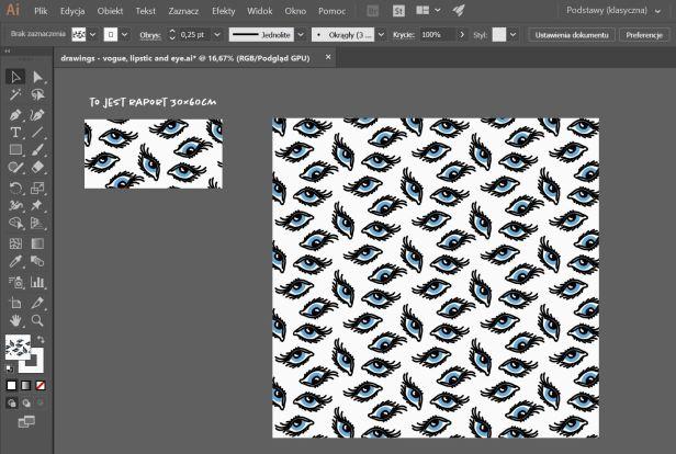 oferta opracowanie wzoru do druku na tkaninie
