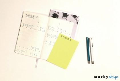 bullet journal bujo tydzien przyklad efektywnego zarzadzania czasem i projektami