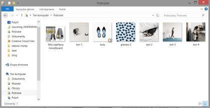 moodboard dostępny w katalogu na komputerze