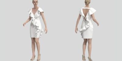 projektowanie mody 3D - wizualizacje odzieży 3D
