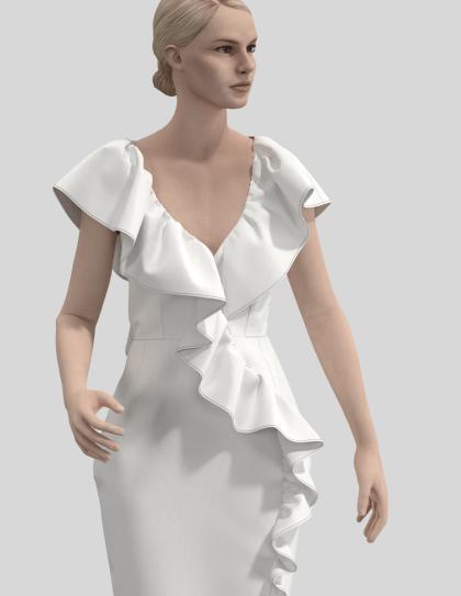 projektowanie odzieży na awatarze wizualizacje odzieży 3D