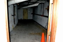 Looking away from the entrance to the basement.