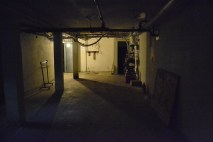 Looking toward the entrance to the basement.