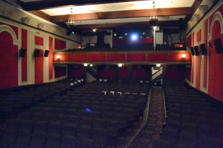 The main theater, taken from the stage.