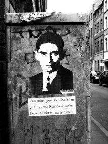 Franz Kafka - Streetart2