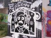 Streetart - Edgar Allan Poe 2