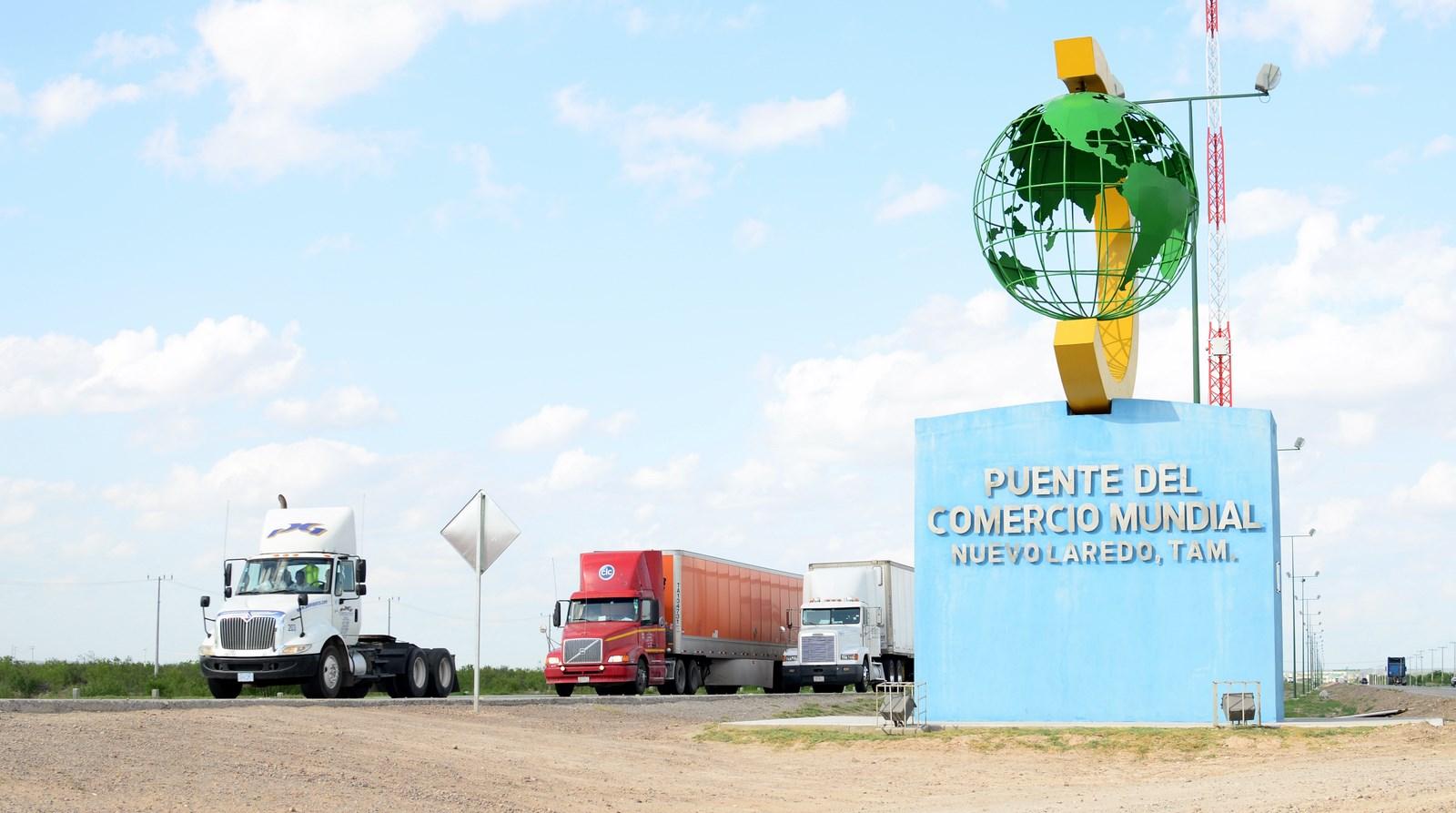 Recauda México el 24 4% del IVA por cruce de Nuevo Laredo