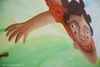 La niña africana es muy especial para Nívola