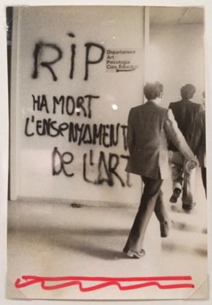 """1 Fotografía en la exposición """"De mur a mur"""" en el AFB"""