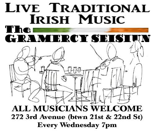 Traditional Irish Seisiun at Gramercy Ale House
