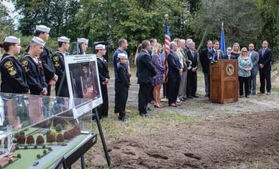 Ground Breaking Murph Navy SEAL Museum NY-30