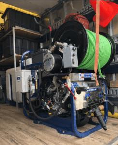 water jet plumbing equipment