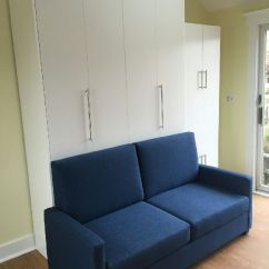 Queen Bed Sofa Clean Leather Cat Urine Murphy With Nyc Area Vertical Size In White Closed 2