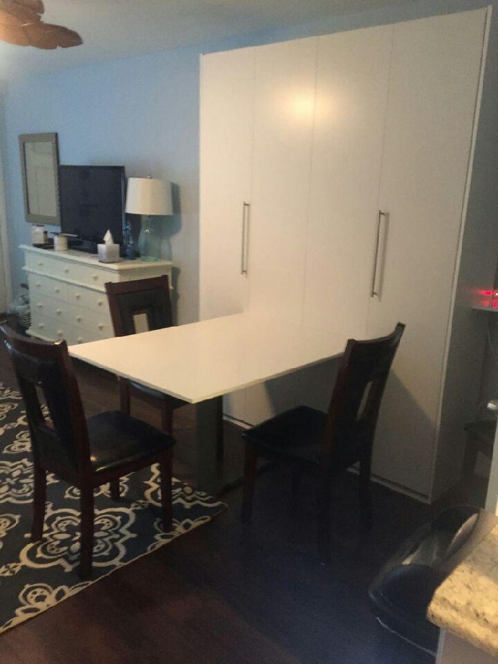 sofa com nyc ikea klobo cover murphy bed desk or drop table | area