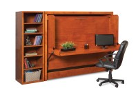 Mirage H Desk Wall Bed - Murphy Beds of San Diego