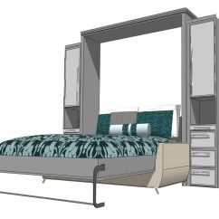 Wall Bed With Sofa Canada Grey Linen Slipcover Inspiration Murphy Beds Of San Diego