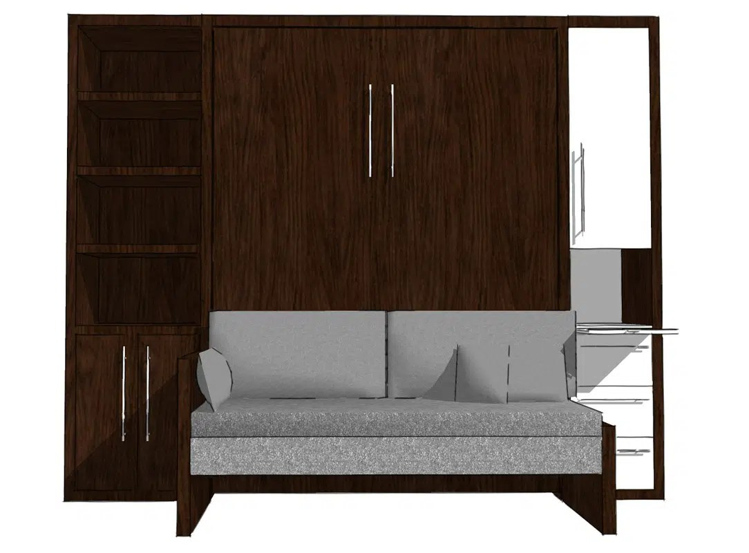 wall bed with sofa canada how much do american leather sofas cost inspiration murphy beds of san diego