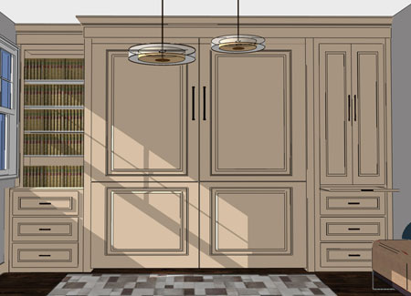 Custom Built In Cabinets Murphy Beds Of San Diego