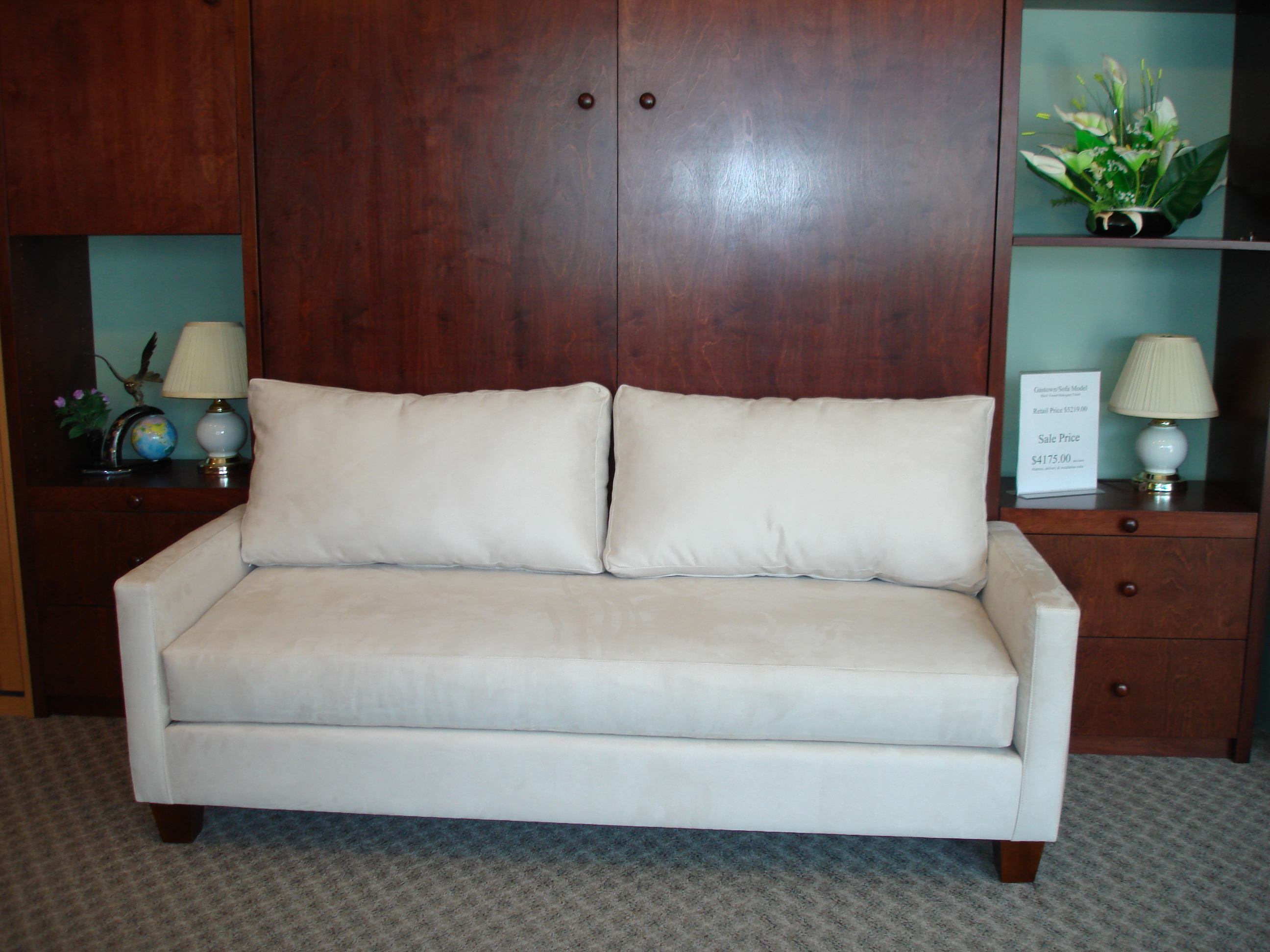 diy murphy bed sofa white rattan garden set couch roole