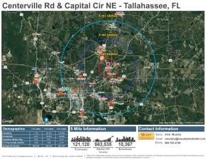 Centerville Rd & Capital Circle NE - Tallahassee, FL