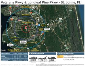Veterans Pkwy & Longleaf Pine Pkwy - St. Johns FL