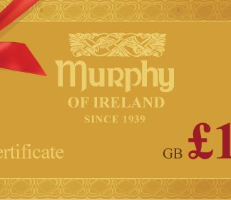 Murphy of Ireland £100 Gift Certificate