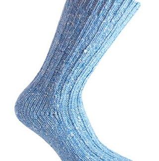 Donegal Tweed Sock - Sky Blue