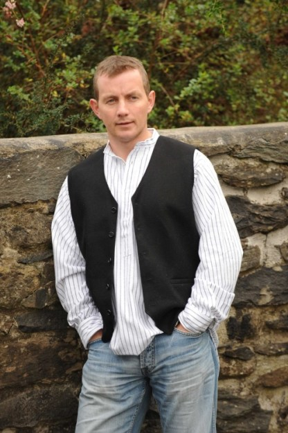 Glengesh Tweedback Waistcoat Black