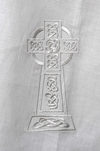 Kinsale Christening Cloak Celtic Cross
