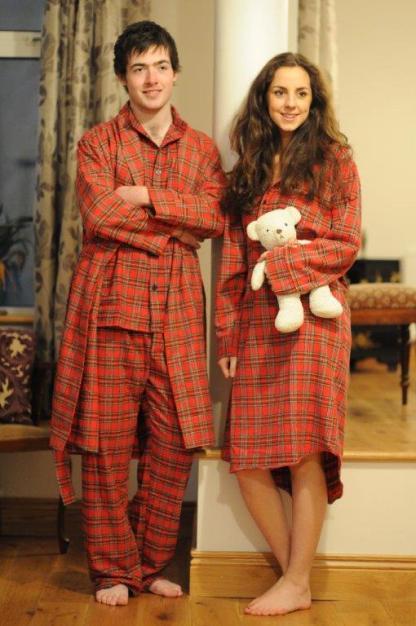 Pyjamas and Dressing Gown Set